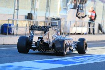 World © Octane Photographic Ltd. Infiniti Red Bull Racing RB11 – Daniil Kvyat. Sunday 22nd February 2015, F1 Winter testing, Circuit de Catalunya, Barcelona, Spain, Day 4. Digital Ref : 1191LB1D9215