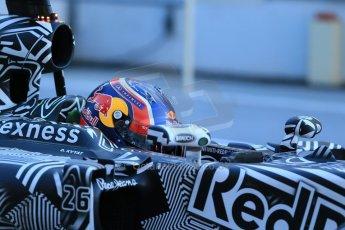 World © Octane Photographic Ltd. Infiniti Red Bull Racing RB11 – Daniil Kvyat. Sunday 22nd February 2015, F1 Winter testing, Circuit de Catalunya, Barcelona, Spain, Day 4. Digital Ref : 1191LB1D9254