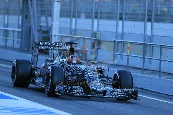 World © Octane Photographic Ltd. Infiniti Red Bull Racing RB11 – Daniil Kvyat. Sunday 22nd February 2015, F1 Winter testing, Circuit de Catalunya, Barcelona, Spain, Day 4. Digital Ref : 1191LB1D9473