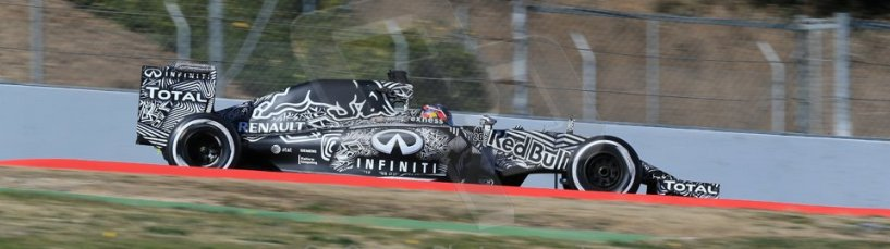 World © Octane Photographic Ltd. Infiniti Red Bull Racing RB11 – Daniil Kvyat. Sunday 22nd February 2015, F1 Winter test #2, Circuit de Barcelona, Catalunya, Spain, Day 4. Digital Ref : 1191LB1D9740