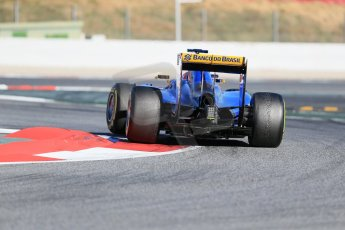 World © Octane Photographic Ltd. Infiniti Red Bull Racing RB11 – Daniil Kvyat. Sunday 22nd February 2015, F1 Winter test #2, Circuit de Barcelona, Catalunya, Spain, Day 4. Digital Ref : 1191LB1D9936