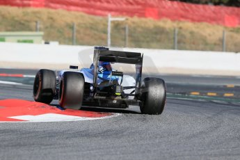 World © Octane Photographic Ltd. Williams Martini Racing FW37 – Valtteri Bottas. Sunday 22nd February 2015, F1 Winter test #2, Circuit de Barcelona, Catalunya, Spain, Day 4. Digital Ref: 1191LB1D9948
