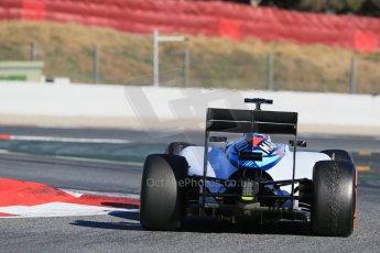 World © Octane Photographic Ltd. Williams Martini Racing FW37 – Valtteri Bottas. Sunday 22nd February 2015, F1 Winter test #2, Circuit de Barcelona, Catalunya, Spain, Day 4. Digital Ref: 1191LB1D9969