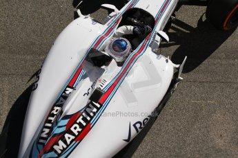 World © Octane Photographic Ltd. Williams Martini Racing FW37 – Valtteri Bottas. Sunday 22nd February 2015, F1 Winter test #2, Circuit de Barcelona, Catalunya, Spain, Day 4. Digital Ref: 1191LB7L6412