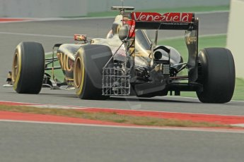 World © Octane Photographic Ltd. Lotus F1 Team E23 Hybrid – Pastor Maldonado. Sunday 1st March 2015, F1 Winter test #3, Circuit de Barcelona-Catalunya, Spain Test 2 Day 4. Digital Ref: 1195CB1L3975