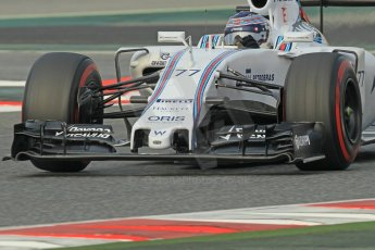 World © Octane Photographic Ltd. Williams Martini Racing FW37 – Valtteri Bottas. Sunday 1st March 2015, F1 Winter test #3, Circuit de Barcelona-Catalunya, Spain Test 2 Day 4. Digital Ref: 1195CB1L4095