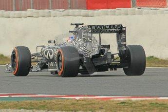 World © Octane Photographic Ltd. Infiniti Red Bull Racing RB11 – Daniel Ricciardo. Sunday 1st March 2015, F1 Winter test #3, Circuit de Barcelona-Catalunya, Spain Test 2 Day 4. Digital Ref: 1195CB1L4145