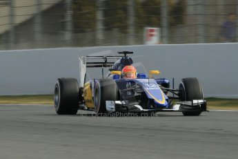 World © Octane Photographic Ltd. Sauber F1 Team C34-Ferrari – Felipe Nasr. Sunday 1st March 2015, F1 Winter test #3, Circuit de Barcelona-Catalunya, Spain Test 2 Day 4. Digital Ref: 1195CB1L4226