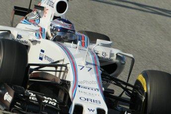 World © Octane Photographic Ltd. Williams Martini Racing FW37 – Valtteri Bottas. Sunday 1st March 2015, F1 Winter test #3, Circuit de Barcelona-Catalunya, Spain Test 2 Day 4. Digital Ref: 1195CB1L4625
