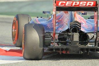 World © Octane Photographic Ltd. Scuderia Toro Rosso STR10 – Max Verstappen. Sunday 1st March 2015, F1 Winter test #3, Circuit de Barcelona-Catalunya, Spain Test 2 Day 4. Digital Ref: 1195CB1L4722