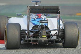 World © Octane Photographic Ltd. Williams Martini Racing FW37 – Valtteri Bottas. Sunday 1st March 2015, F1 Winter test #3, Circuit de Barcelona-Catalunya, Spain Test 2 Day 4. Digital Ref: 1195CB1L4761