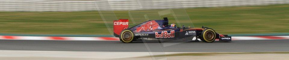 World © Octane Photographic Ltd. Scuderia Toro Rosso STR10 – Max Verstappen. Sunday 1st March 2015, F1 Winter test #3, Circuit de Barcelona-Catalunya, Spain Test 2 Day 4. Digital Ref: 1195CB7B1457
