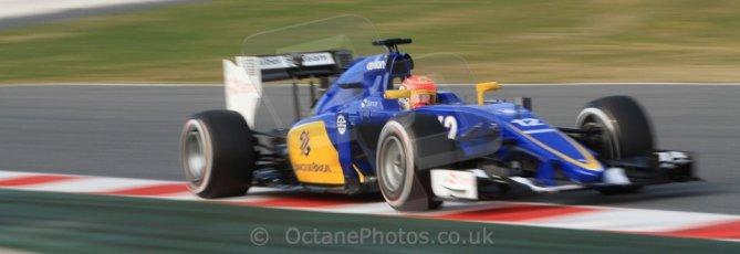 World © Octane Photographic Ltd. Sauber F1 Team C34-Ferrari – Felipe Nasr. Sunday 1st March 2015, F1 Winter test #3, Circuit de Barcelona-Catalunya, Spain Test 2 Day 4. Digital Ref: 1195CB7B1500