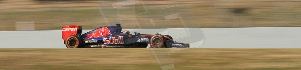 World © Octane Photographic Ltd. Scuderia Toro Rosso STR10 – Max Verstappen. Sunday 1st March 2015, F1 Winter test #3, Circuit de Barcelona-Catalunya, Spain Test 2 Day 4. Digital Ref: 1195CB7B1605