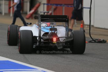 World © Octane Photographic Ltd. Williams Martini Racing FW37 – Valtteri Bottas. Sunday 1st March 2015, F1 Winter test #3, Circuit de Barcelona-Catalunya, Spain Test 2 Day 4. Digital Ref: 1195LB1D3328
