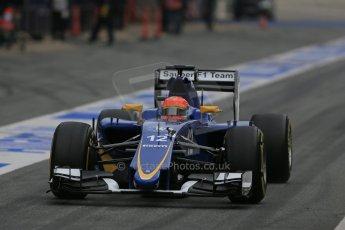 World © Octane Photographic Ltd. Sauber F1 Team C34-Ferrari – Felipe Nasr. Sunday 1st March 2015, F1 Winter test #3, Circuit de Barcelona-Catalunya, Spain Test 2 Day 4. Digital Ref : 1195LB1D3355