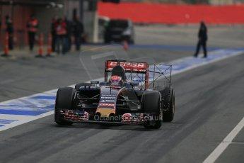 World © Octane Photographic Ltd. Scuderia Toro Rosso STR10 – Max Verstappen. Sunday 1st March 2015, F1 Winter test #3, Circuit de Barcelona-Catalunya, Spain Test 2 Day 4. Digital Ref: 1195LB1D3365