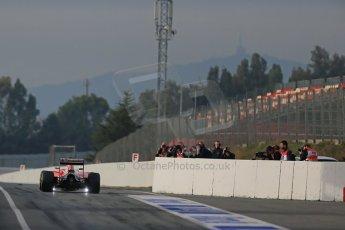 World © Octane Photographic Ltd. Scuderia Ferrari SF15-T– Sebastian Vettel. Sunday 1st March 2015, F1 Winter test #3, Circuit de Barcelona-Catalunya, Spain Test 2 Day 4. Digital Ref: 1195LB1D3450
