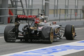 World © Octane Photographic Ltd. Lotus F1 Team E23 Hybrid – Pastor Maldonado. Sunday 1st March 2015, F1 Winter test #3, Circuit de Barcelona-Catalunya, Spain Test 2 Day 4. Digital Ref : 1195LB1D3461