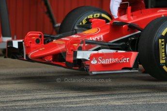 World © Octane Photographic Ltd. Scuderia Ferrari SF15-T– Sebastian Vettel. Sunday 1st March 2015, F1 Winter test #3, Circuit de Barcelona-Catalunya, Spain Test 2 Day 4. Digital Ref: 1195LB1D3477
