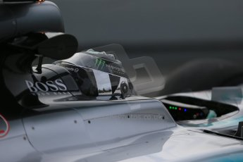 World © Octane Photographic Ltd. Mercedes AMG Petronas F1 W06 Hybrid – Nico Rosberg. Sunday 1st March 2015, F1 Winter test #3, Circuit de Barcelona-Catalunya, Spain Test 2 Day 4. Digital Ref : 1195LB1D3627