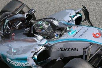 World © Octane Photographic Ltd. Mercedes AMG Petronas F1 W06 Hybrid – Nico Rosberg. Sunday 1st March 2015, F1 Winter test #3, Circuit de Barcelona-Catalunya, Spain Test 2 Day 4. Digital Ref : 1195LB1D3835