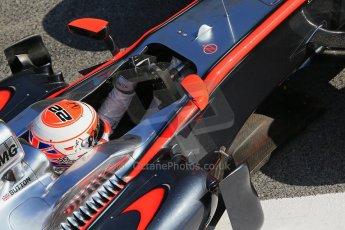 World © Octane Photographic Ltd. McLaren Honda MP4/30 – Jenson Button. Sunday 1st March 2015, F1 Winter test #3, Circuit de Barcelona-Catalunya, Spain Test 2 Day 4. Digital Ref: 1195LB1D3904