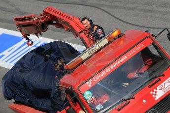 World © Octane Photographic Ltd. Scuderia Toro Rosso STR10 – Max Verstappen. Sunday 1st March 2015, F1 Winter test #3, Circuit de Barcelona-Catalunya, Spain Test 2 Day 4. Digital Ref: 1195LB1D4039