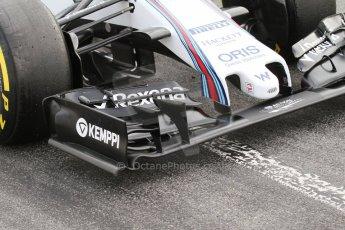 World © Octane Photographic Ltd. Williams Martini Racing FW37 – Valtteri Bottas. Sunday 1st March 2015, F1 Winter test #3, Circuit de Barcelona-Catalunya, Spain Test 2 Day 4. Digital Ref: 1195LB7L6897