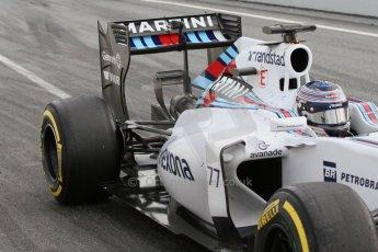 World © Octane Photographic Ltd. Williams Martini Racing FW37 – Valtteri Bottas. Sunday 1st March 2015, F1 Winter test #3, Circuit de Barcelona-Catalunya, Spain Test 2 Day 4. Digital Ref: 1195LB7L6904