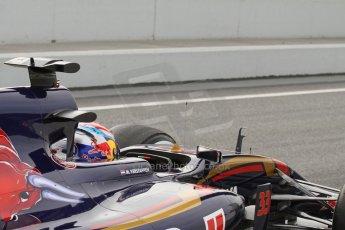 World © Octane Photographic Ltd. Scuderia Toro Rosso STR10 – Max Verstappen. Sunday 1st March 2015, F1 Winter test #3, Circuit de Barcelona-Catalunya, Spain Test 2 Day 4. Digital Ref: 1195LB7L6929