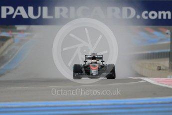World © Octane Photographic Ltd. Pirelli wet tyre test, Paul Ricard, France. Monday 25th January 2016. McLaren Honda MP4/30 – Stoffel Vandoorne. Digital Ref: 1498CB1D8411