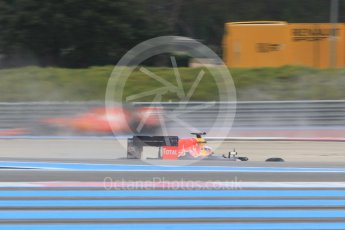 World © Octane Photographic Ltd. Pirelli wet tyre test, Paul Ricard, France. Monday 25th January 2016. Red Bull Racing RB11 – Daniel Ricciardo. Digital Ref: 1498CB1D8677