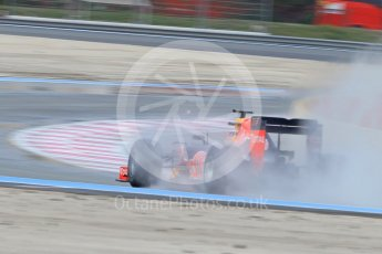 World © Octane Photographic Ltd. Pirelli wet tyre test, Paul Ricard, France. Monday 25th January 2016. Red Bull Racing RB11 – Daniel Ricciardo. Digital Ref: 1498CB1D8779