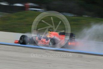 World © Octane Photographic Ltd. Pirelli wet tyre test, Paul Ricard, France. Monday 25th January 2016. Red Bull Racing RB11 – Daniel Ricciardo. Digital Ref: 1498CB1D8819