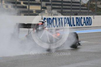 World © Octane Photographic Ltd. Pirelli wet tyre test, Paul Ricard, France. Monday 25th January 2016. McLaren Honda MP4/30 – Stoffel Vandoorne. Digital Ref: 1498CB1D8951