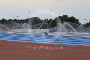 World © Octane Photographic Ltd. Pirelli wet tyre test, Paul Ricard, France. Monday 25th January 2016. Deluge system. Digital Ref: 1498CB7D5111
