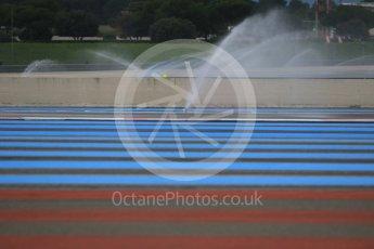 World © Octane Photographic Ltd. Pirelli wet tyre test, Paul Ricard, France. Monday 25th January 2016. Deluge system. Digital Ref: 1498CB7D5116