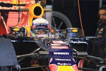 World © Octane Photographic Ltd. Pirelli wet tyre test, Paul Ricard, France. Monday 25th January 2016. Red Bull Racing RB11 – Daniel Ricciardo. Digital Ref: 1498CB7D5252
