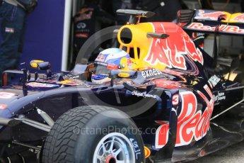 World © Octane Photographic Ltd. Pirelli wet tyre test, Paul Ricard, France. Monday 25th January 2016. Red Bull Racing RB11 – Daniel Ricciardo. Digital Ref: 1498CB7D5269