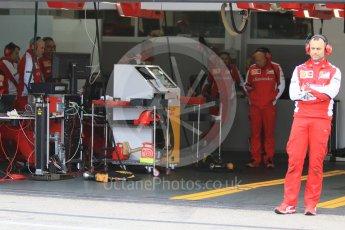 World © Octane Photographic Ltd. Pirelli wet tyre test, Paul Ricard, France. Monday 25th January 2016. Ferrari SF15-T – Kimi Raikkonen. Digital Ref: 1498CB7D5322