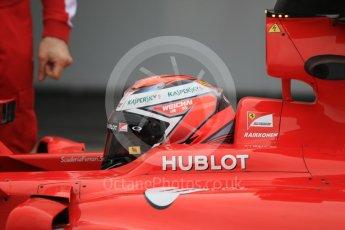 World © Octane Photographic Ltd. Pirelli wet tyre test, Paul Ricard, France. Monday 25th January 2016. Ferrari SF15-T – Kimi Raikkonen. Digital Ref: 1498CB7D5344