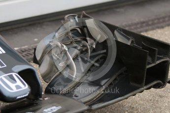 World © Octane Photographic Ltd. Pirelli wet tyre test, Paul Ricard, France. Monday 25th January 2016. McLaren Honda MP4/30 – Stoffel Vandoorne. Digital Ref: 1498CB7D5423
