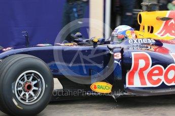 World © Octane Photographic Ltd. Pirelli wet tyre test, Paul Ricard, France. Monday 25th January 2016. Red Bull Racing RB11 – Daniel Ricciardo. Digital Ref: 1498LB1D5555