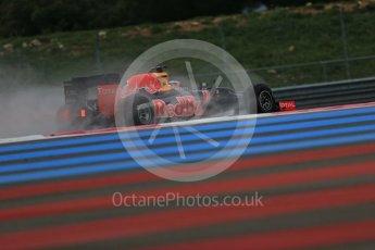 World © Octane Photographic Ltd. Pirelli wet tyre test, Paul Ricard, France. Monday 25th January 2016. Red Bull Racing RB11 – Daniel Ricciardo. Digital Ref: 1498LB1D5883