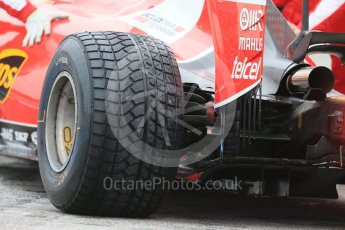 World © Octane Photographic Ltd. Pirelli wet tyre test, Paul Ricard, France. Monday 25th January 2016. Ferrari SF15-T – Kimi Raikkonen. Digital Ref: 1498LB1D5951