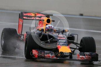 World © Octane Photographic Ltd. Pirelli wet tyre test, Paul Ricard, France. Monday 25th January 2016. Red Bull Racing RB11 – Daniel Ricciardo. Digital Ref: 1498LB1D5974