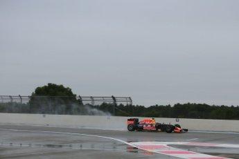 World © Octane Photographic Ltd. Pirelli wet tyre test, Paul Ricard, France. Monday 25th January 2016. Red Bull Racing RB11 – Daniel Ricciardo. Digital Ref: 1498LB5D5391