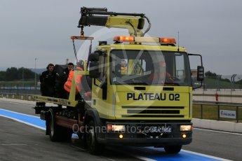 World © Octane Photographic Ltd. Pirelli wet tyre test, Paul Ricard, France. Monday 25th January 2016. McLaren Honda MP4/30 – Stoffel Vandoorne. Digital Ref: 1498LB5D5451