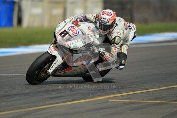 © Octane Photographic Ltd. 2012 World Superbike Championship – European GP – Donington Park. Friday 11th May 2012. WSBK Friday Qualifying practice. Lorenzo Zanetti - Ducati 1098R. Digital Ref : 0330cb1d3124
